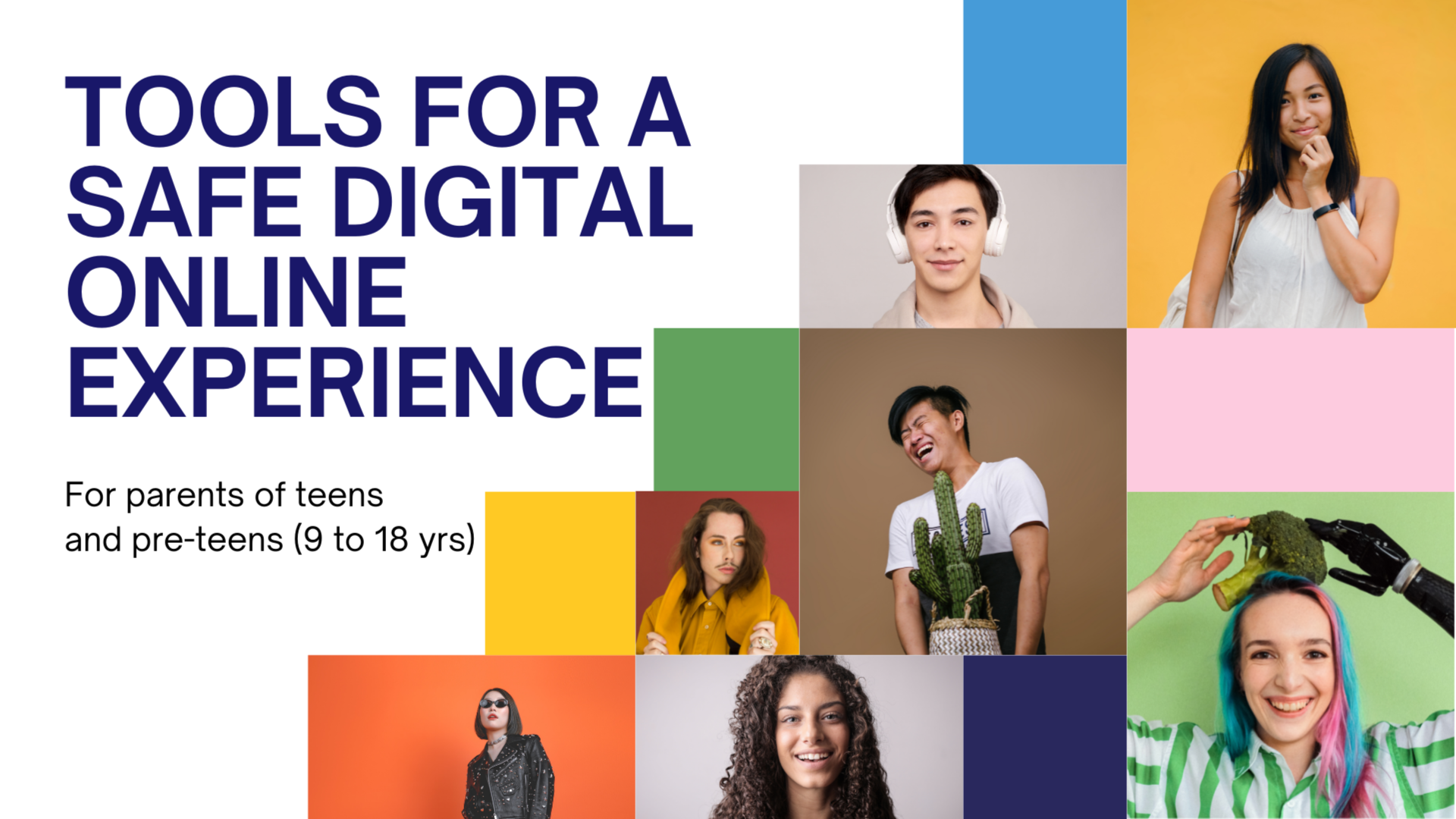 Tools for a safe digital online experience